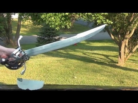 Windlass Scottish Cutlass Sword Review