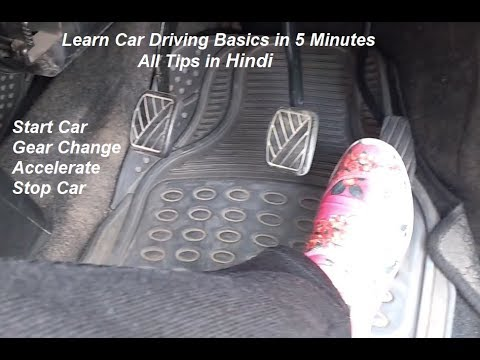 learning car driving in india video