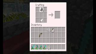 Jak zrobic luk i strzaly - Poradnik Minecraft #01