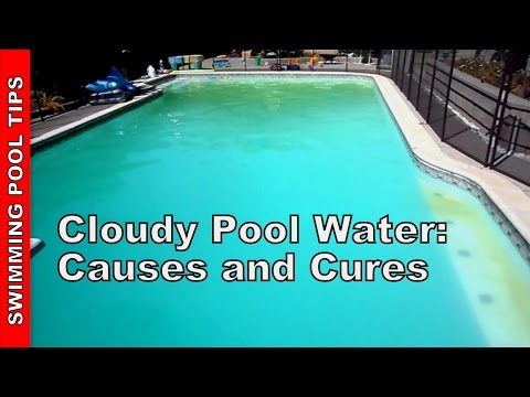 Cloudy Pool Water. Causes and Cures