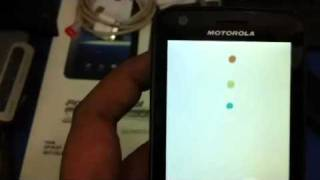 Cannot unlock my motorola atrix 4G