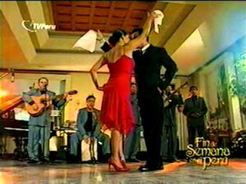 (MARINERA LIMEÑA Y RESBALOSA  (baile y canto) - Evocacion Criolla (Peru)