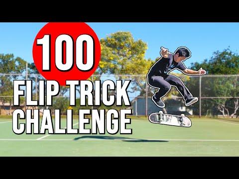 THE 100 FLIP TRICK CHALLENGE
