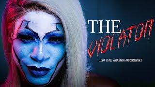 B!TCH IMA CLOWN! | THE VIOLATOR (but cute) MAKEUP TUTORIAL