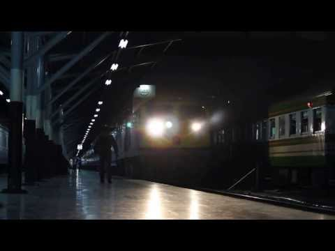 (HD) [SRT.] JR WEST Blue Train GEA.4528 S.Express 13 Dep. Bangkok Station.