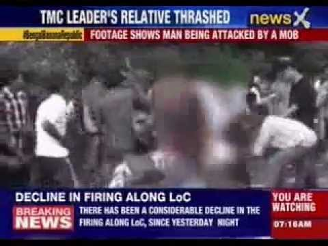 West Bengal: Mob thrashes TMC leader's relative for raping minor girl