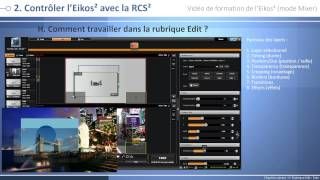 Eikos2 - EKS550 : Vidéo de formation - Mode Mixer