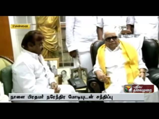 Vijayakanth meets Political leaders to Strengthen the Opposite