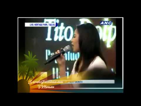 Sarah Geronimo &#8211; The Lord&#8217;s Prayer / Our Father &#8211; Final Tribute to Comedy King Dolphy
