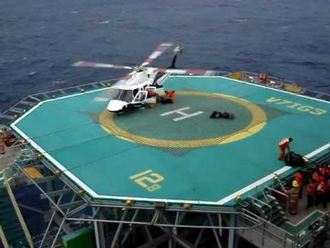 Helicopter P53 Offshore Brazil