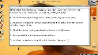 Live For Speed Araba Yaması Kurulum