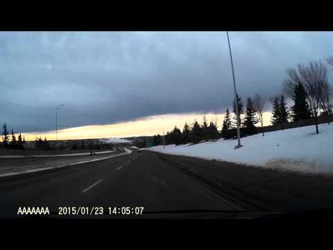 Dash Cam Captured a Chinook Arch on My Way Home
