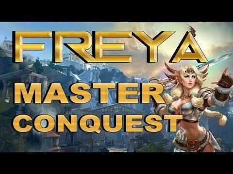 SMITE! Freya, Cuando un buff era necesario :V! Master Conquest S4 #56