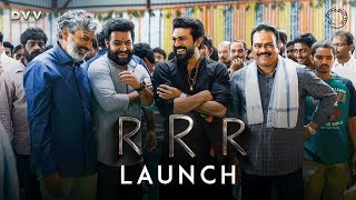 RRR Launch Video - NTR, Ram Charan | SS Rajamouli