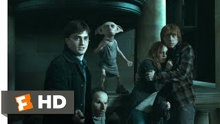 Harry Potter and the Deathly Hallows: Part 1 (4/5) Movie CLIP - Escape From Malfoy Manor (2010) HD
