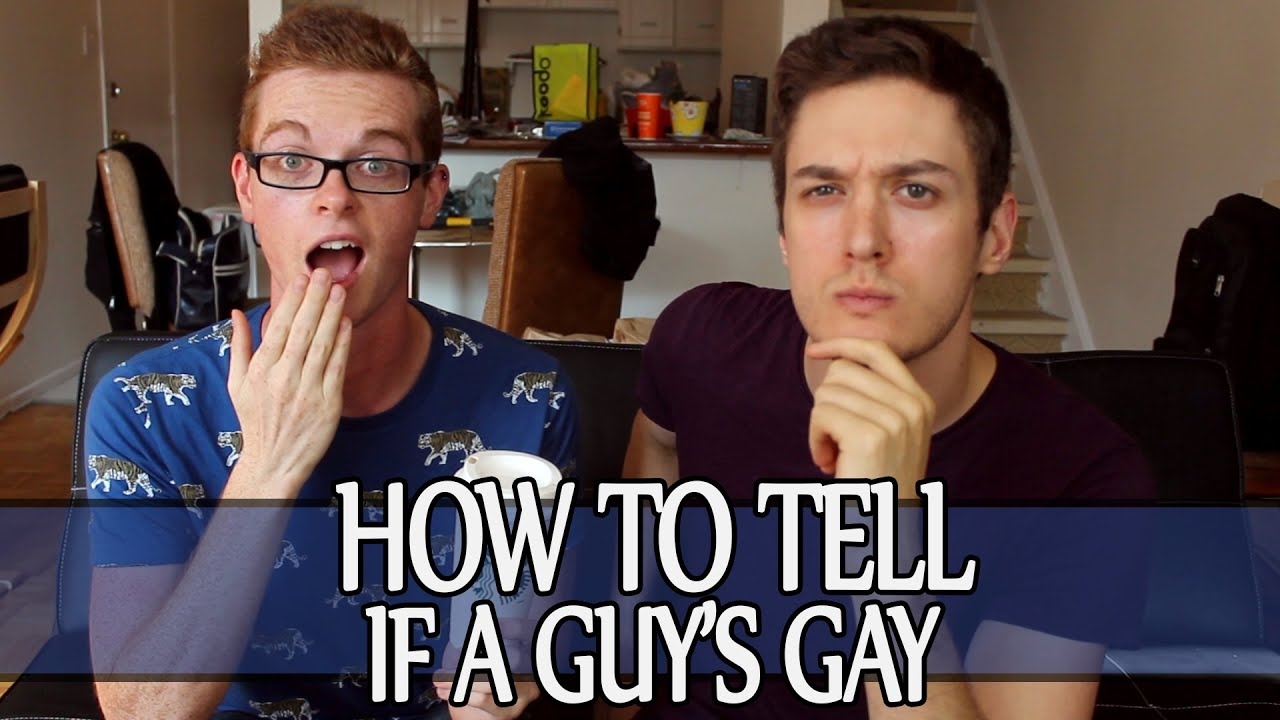 from Craig how to know gay