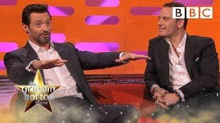 Hugh Jackman talks about running naked on set - The Graham Norton Show: Series 15 Episode 5 - BBC