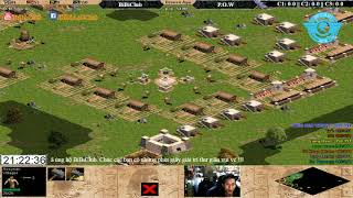 AOE 4vs4 Random BiBiClub vs Liên Quân Pow 21-9-2017