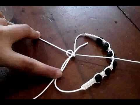 Comment realiser un shamballa youtube - Comment faire une suspension en macrame ...