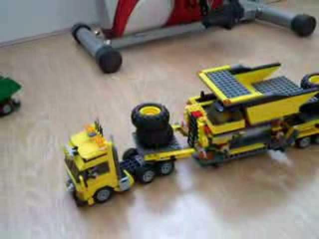 Lego 7900 + 4202 dump truck