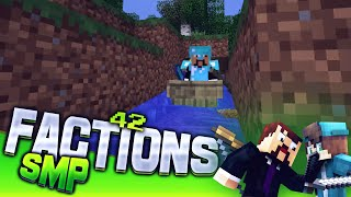 Minecraft Factions SMP #42 - First Boat Network!  (Private 1.9 Factions Server)