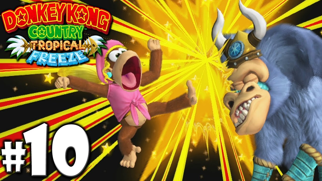 Donkey kong country tropical freeze ba boom - photo#9