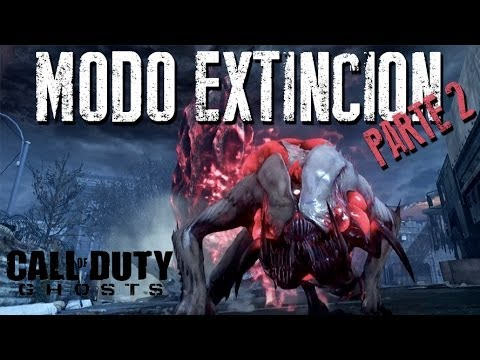 MODO EXTINCION  | PARTE 2 | COD GHOSTS