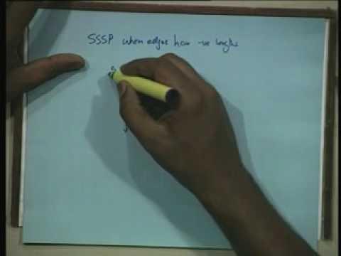 Lecture - 36 Single Source Shortest Paths