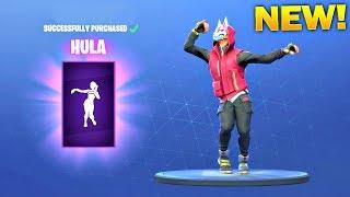 *NEW* HULA DANCE EMOTE! - Fortnite Battle Royale Item Shop July 16!