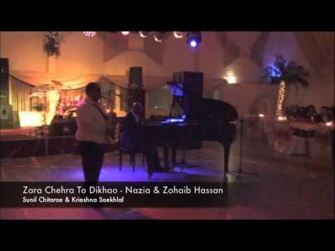 Zara Chehra To Dikhao - Performed by Sunil Chitaroe (saxophone...