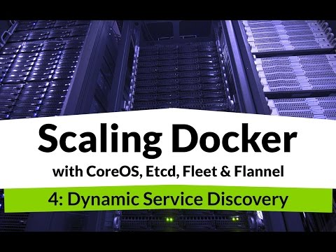 Scaling Docker #4 - Docker Service Discovery and Load Balancing