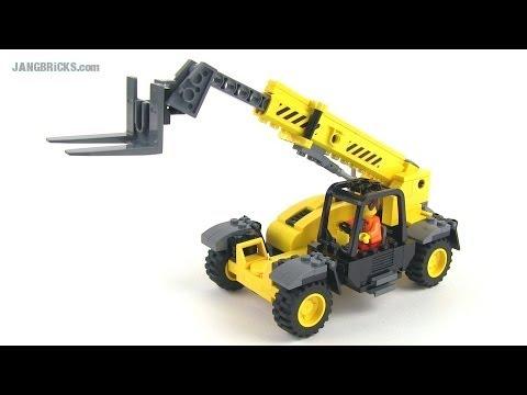 LEGO MOC: Telescopic Handler - YouTube