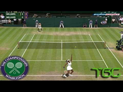 Tennis Elbow 2014 Wimbledon - Venus Williams vs Serena Williams