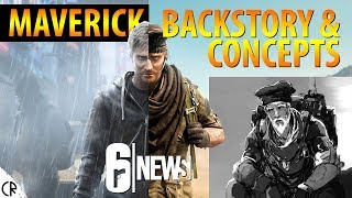 Maverick Backstory & Concepts - Grim Sky - 6News - Tom Clancy's Rainbow Six Siege