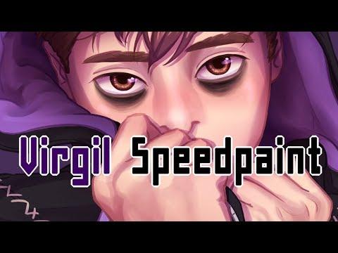 (4.3 MB) Virgil/Anxiety - Sanders Sides Speedpaint