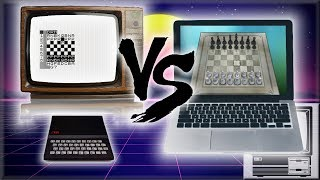 1981 1KB Computer vs. Modern PC: CHESS | Nostalgia Nerd