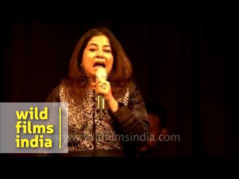 Rekha Bhardwaj performing Namak Ishq ka at Mussoorie Writers...