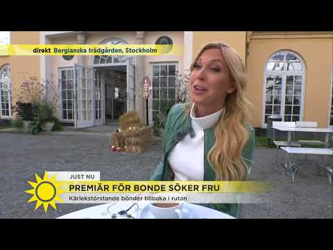 """Bonde-Linda: """"Jag har längtat så mycket efter att få dra igång"""" - Nyhetsmorgon (TV4)"""