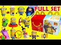 2017 Despicable Me 3 Minions McDonald's Happy Meal Toys Full ...