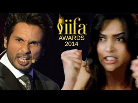 Deepika Padukone INSULTS Shahid Kapur at IIFA Awards 2014