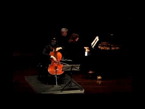 Bolcom: Capriccio for Cello and Piano, Mvt. IV