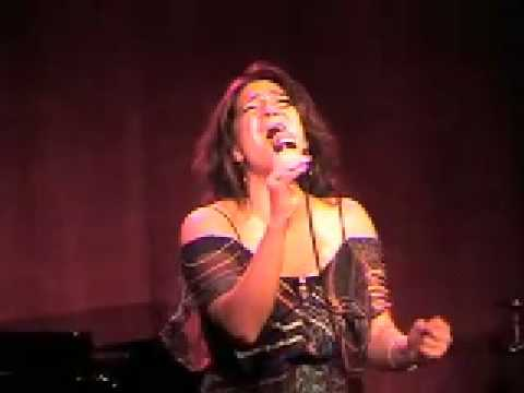 Shoshana Bean sings I Know at Katie Thompson concert