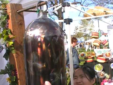 Transforming Oxygen Tanks Into Artistic Bells Youtube