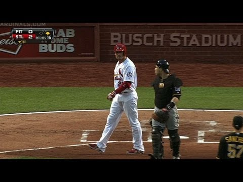 PIT@STL: Hit batsmen, ejections set mood at Busch