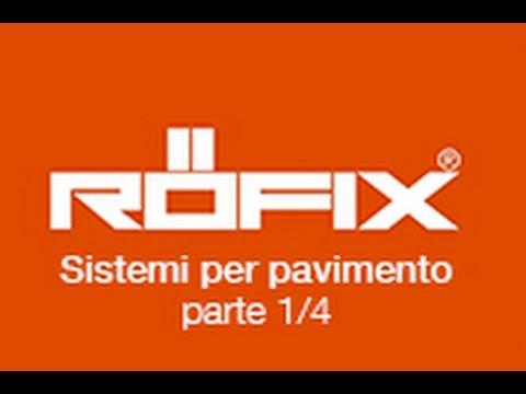 RÖFIX 831 Sistemi per pavimento su RÖFIX TV