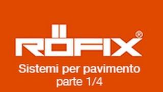 RÖFIX 830 - sistemi per pavimento su RÖFIX TV