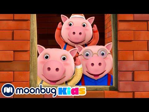 Three Little Pigs | Original Songs | By LBB Junior