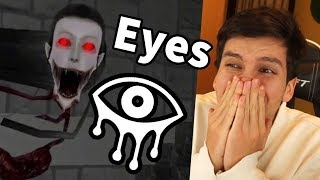 VOY A MORIR DE MIEDO CON ESTO !! 😱 ¿PODRÉ ESCAPAR? - Eyes (Horror Game)