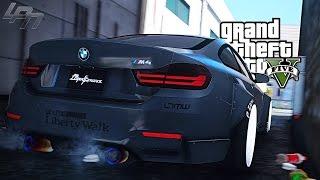 GTA V CARMODS - BMW M4 LIBERTY WALK