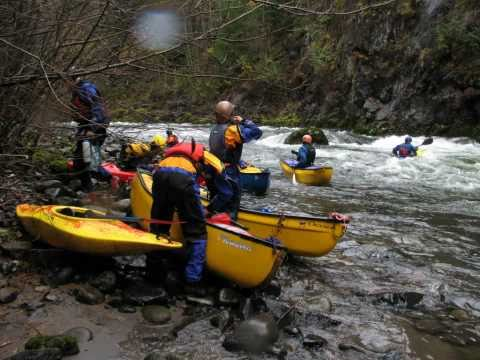 Canoeing the Kalama (WA)